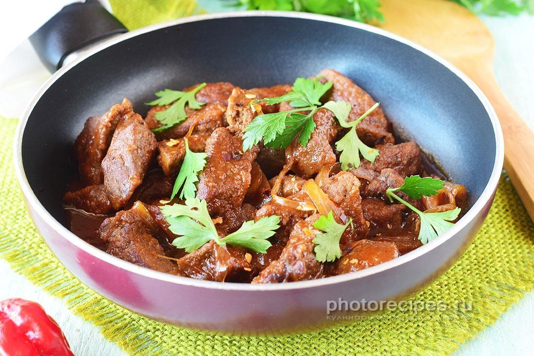 печень по восточному рецепт с фото вологжан, побывавших индии
